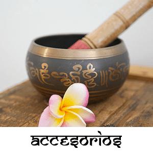 accesorios para meditar cuenco tibetano