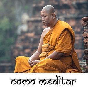 como meditar monje budista