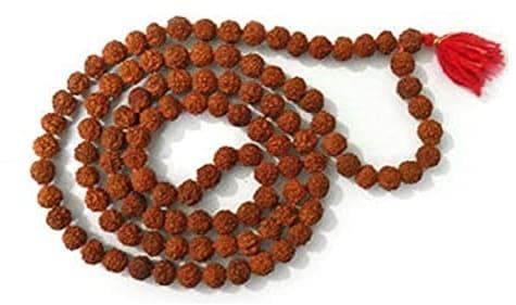 collar budista semillas