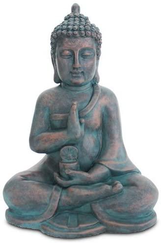 estatua buda sentado loto